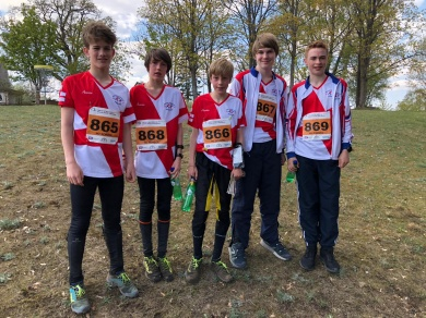 High Storrs at the World Schools Orienteering Championships